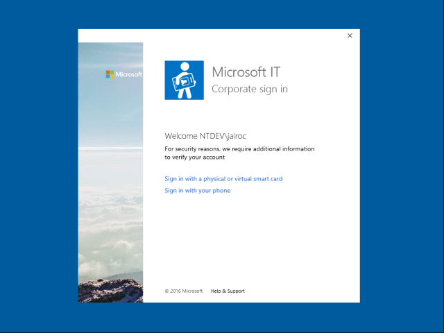 Azure AD and Microsoft Passport for Work in Windows 10